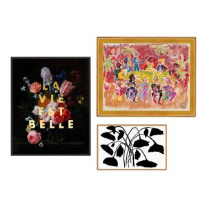 Park Avenue Gallery Wall, Set of 3