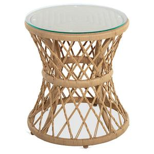 Carmel Woven Side Table, Natural