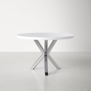 Remi 47'' Iron Pedestal Dining Table
