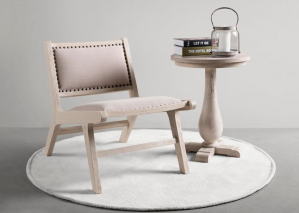 Whitman Accent Chair, Natural
