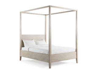 Maxwell Canopy Bed, Natural