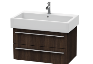 """Duravit X-Large 29-1/2"""" Wall Mount / Floating 2 Drawer Wood Vanity Cabinet Only"""
