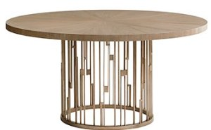Shadow Play 60'' Pedestal Dining Table