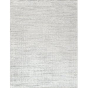 Slate Hand-Knotted Wool/Sink Ivory/Gray Area Rug