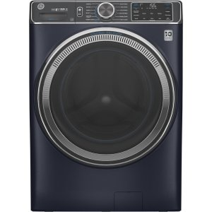 Smart Laundry Appliances GE Appliances 5 Cubic Feet Cu. Ft. Energy Star High Efficiency Smart Front Load Washer with