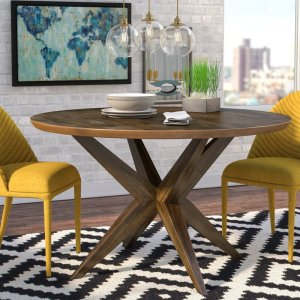 Tott And Eling 50'' Pedestal Dining Table