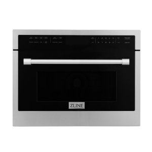 ZLINE Kitchen And Bath Studio 24'' 1.6 Cubic Feet cu. ft. Convection Built-In Microwave with Sensor Cooking