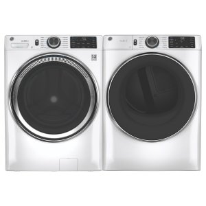 GE Appliances Smart 4.8 Cu. Ft. Front Load Washer and 7.8 Cu. Ft. Electric Dryer
