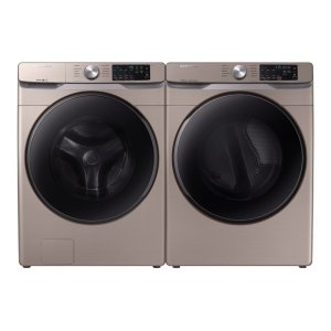 4.5 cu. ft. Front Load Washer and 7.5 cu. ft. Gas Dryer