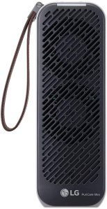 LG PuriCare Mini – Small Lightweight Ultra Quiet Portable Air Purifier for flitering ultra-fine dust and small particles in the Home Bedroom Office Airplane Train Car or On the Go, Black (AP151MBA1)