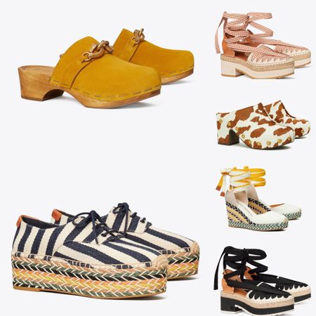 Tory Burch private sale event shoes