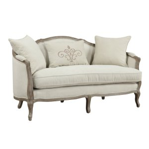 Duffield 65'' Settee with Reversible Cushions