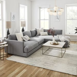 Haven 2-Piece Terminal Chaise Sectional