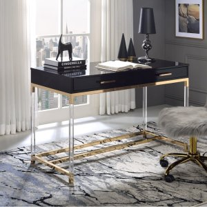 Kunala Desk with Built in Outlets