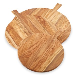 Olivewood Round Cheese Boards
