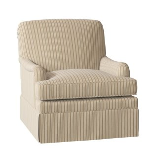 Stratford 31'' Wide Down Cushion Slipcovered Armchair