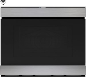 SHARP 24 in 1.2 cu. ft. Sharp IoT + Easy Wave Open, Stainless Steel Convection Microwave Drawer