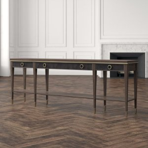 """Clarendon 84.25"""" Solid Wood Console Table"""