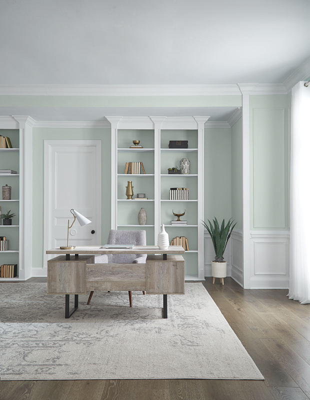 BEHR Breezeway MQ3-21 Color of the year 2022