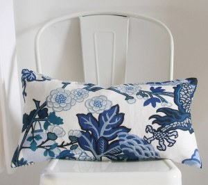 Schumacher Pillow Cover Chiang Mai China Blue 17X27 Lumbar image 0 Schumacher Pillow Cover Chiang Mai China Blue 17X27 Lumbar image 1 Schumacher Pillow Cover Chiang Mai China Blue 17X27 Lumbar image 2 Schumacher Pillow Cover Chiang Mai China Blue 17X27 Lumbar image 3 Schumacher Pillow Cover Chiang Mai China Blue 17X27 Lumbar image 4 Schumacher Pillow Cover Chiang Mai China Blue 17X27 Lumbar image 5 Schumacher Pillow Cover Chiang Mai China Blue 17X27 Lumbar image 6 STUDIOTULLIA 5,670 sales | 5 out of 5 stars      Schumacher Pillow Cover, Chiang Mai China Blue, 17X27 Lumbar, Decorative Pillow Cover, Studio Tullia, ready to ship