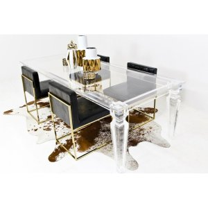 Lucite 96'' Dining Table