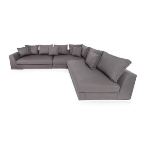 """Moore 120.5"""" Wide Reversible Modular Sectional"""