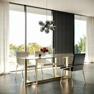 Peeples 79'' Dining Table