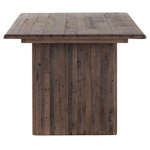 Raquel Dining Table, Reclaimed Brown