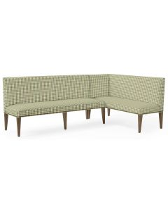 Ross Dining Banquette - Grove Petite Gingham Linen