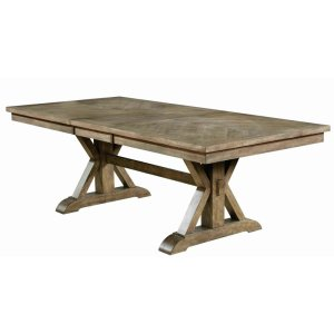 Styles Extendable Trestle Dining Table