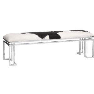 Trotta Leather Bench