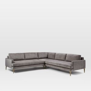 Andes 3-Piece L-Shaped Sectional