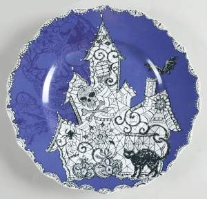 Salad Plate Wiccan Lace